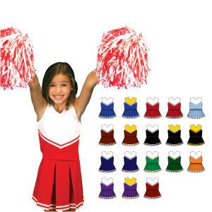 Cheerleading uniforms for kids